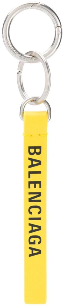 Yellow Balenciaga Key Ring