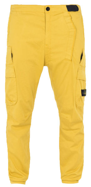 Yellow Cargo Pants Worn By Chris Brown
