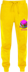 6ix9ine Yellow Shark Print Gooba Sweatpants
