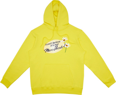 Yellow I Cant Belive Its Not Marc Jacobs Yellow Hoodie M4007837