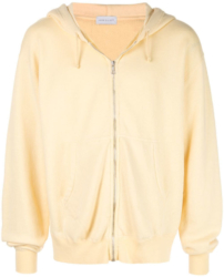Yellow John Elliott Zip Up Hoodie Worn By Wiz Khalifa In His Alright Music Video