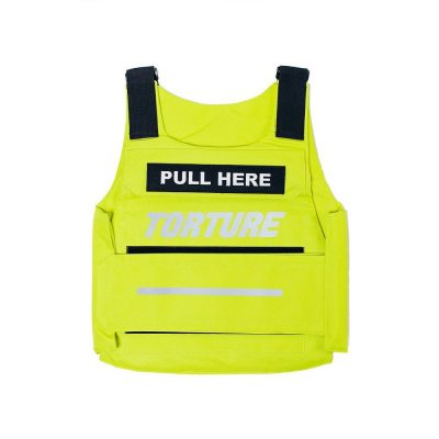 Yellow Tactical Vest Worn By Meek Mill In Instagram Post With Future Wearin Velvet Pants
