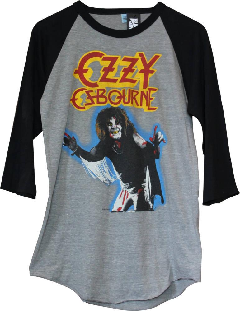 Yfn Lucci Ozzy Osbourne Baseball Shirt