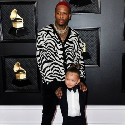 Yg Attends The 62nd Grammies In Zebra Cardigan
