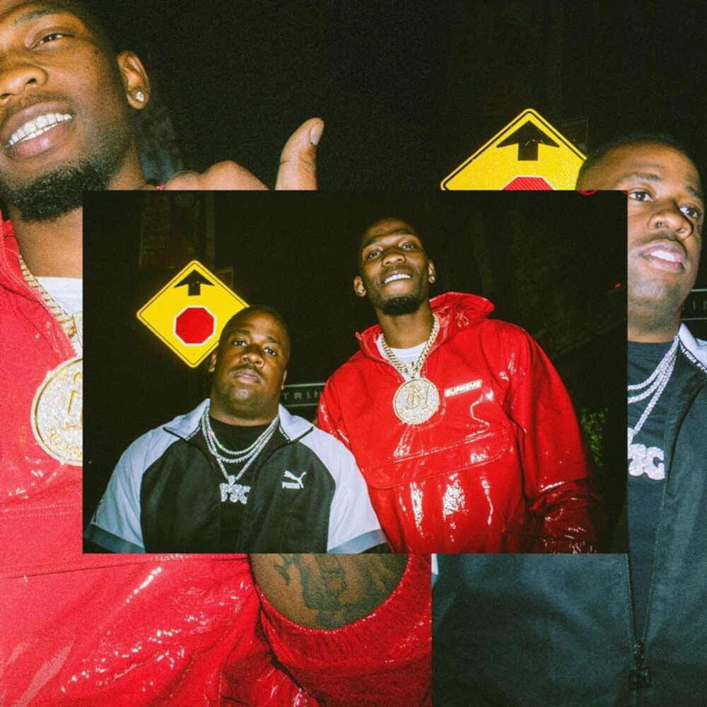 Yo Gotti With Blocboy Jb Wearing A Puma Xtg Black Track Jacket