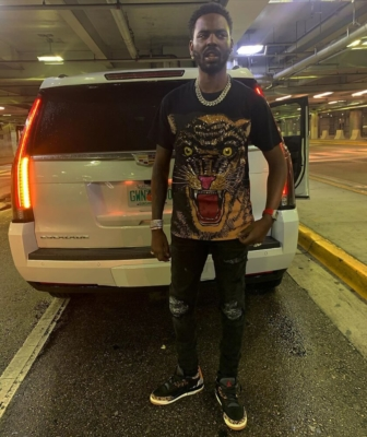 Young Dolph Arrives In Seattle For Show In Gucci Tee Amiri Jeans And Jordan 3 Animal Print