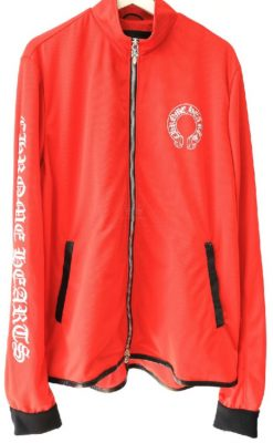 Young Thug Wearing Red Chrome Hearts Track Jacket