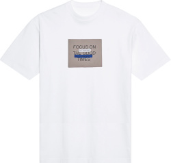 White 'Focus On The Good Times' T-Shirt